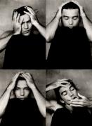 Antonio Banderas (4 comp), Los Angeles, 1995, Archival Pigment Print