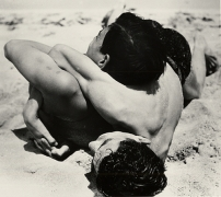 Wrestling Youth, Baltic, 1933, 16 x 12 Silver Gelatin Photograph