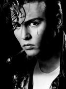 Johnny Depp, Los Angeles, 1989, 17 x 11 Archival Pigment Print