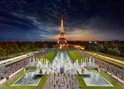 Eiffel Tower, Paris, 2013, C-Type Print