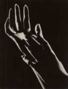 Les Mains (The Hands), 1932, 9 x 7 Silver Gelatin Photograph