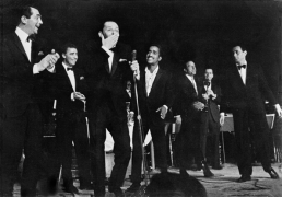 The Rat Pack Performing at The Sands, Las Vegas, 1953