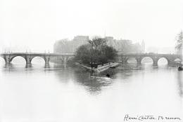Ile de la Cité, Paris, 1952, 11 x 14 Silver Gelatin Photograph