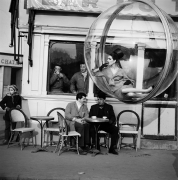 Bar Du Taxi, Paris, 1963