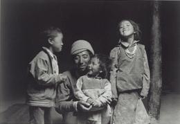 """""""Joy"""", Zanskar, 1988, 10-7/8 x 15-13/16 Platinum Photograph, Ed. 25"""
