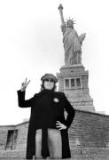 "John Lennon, ""Statue of Liberty"", New York, 1974, Silver Gelatin Photograph"