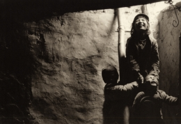"""Emerging"", Zanskar, 1988, 10-15/16 x 15-13/16 Platinum Photograph, Ed. 25"