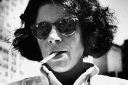 Fran Lebowitz, New York City, 1984, 10 x 8 Silver Gelatin Photograph
