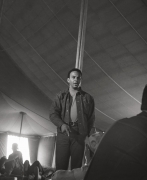 Andrew Young at The 1968 Poor People's Campaign in Marks, Mississippi, 1968, Archival Pigment Print