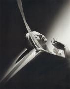 Lisa with Turban, New York, 1940, 24 x 20 Silver Gelatin Photograph