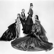 Gianni Versace, Paris, 1992, 20 x 16 Selenium Toned Silver Gelatin Photograph, Ed. 20