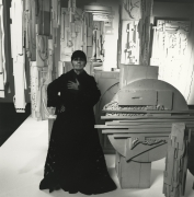 Louise Nevelson, 1972, Silver Gelatin Photograph