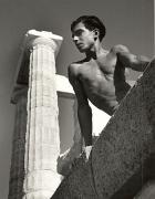 Beneath the Poseidon Temple, Torremolinos, 1951, 16 x 12 Silver Gelatin Photograph
