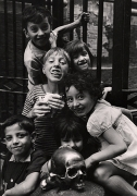 La Chiesa del Prugatorio, Naples, 1961, 11-9/16 x 8 Vintage Silver Gelatin Photograph