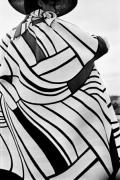 """""""Mondrian"""" Yves Saint Laurent Coat, Harper's Bazaar, Madrid, 1964"""