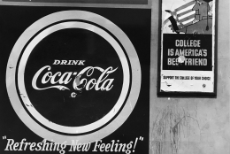 Coca Cola Sign (Later Print made in Artist's lifetime), 1961-67