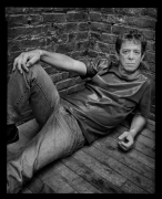 Lou Reed, New York, NY, 2004, 20 x 16 inches, Silver Gelatin Photograph, Ed. of 25