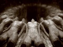 Anamorphosis, Untitled #0804979, 2008, 28-5/8 x 36-3/4 Silver Gelatin Photograph, Ed. 7