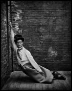 Bill Irwin, New York, NY, 2002, 20 x 16 inches, Silver Gelatin Photograph, Ed. of 25