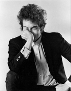 Bob Dylan Hand to Face, NYC, 1965