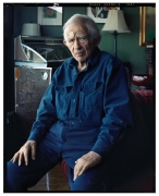 Norman Mailer, Brooklyn, NY, 2007, 20 x 16inches,Archival Pigment Print,Ed. of 25