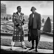"""Sean """"Diddy"""" Combs and Shyne, Versailles, France, 2012, 20 x 16 inches, Silver Gelatin Photograph, Ed. of 25"""