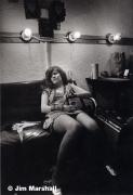 Janis Joplin (Feeling Lousy Backstage at Winterland), San Francisco, 1967, 14 x 11 Silver Gelatin Photograph