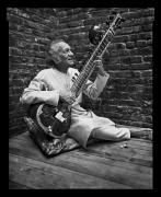 Ravi Shankar, New York, NY, 2002, 20 x 16 inches, Silver Gelatin Photograph, Ed. of 25