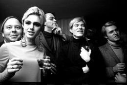 Steve Schapiro Andy Warhol, Edie Sedgwick and Entourage II, New York, 1965