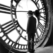 Collin in Clocktower, New York, New York, 2005, Archive Number: HSI-0705-044-01, 16 x 20 Silver Gelatin Photograph