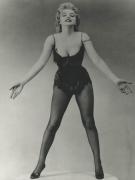Marilyn Monroe (Black Flapper Dress), 1953, 14 x 11 Silver Gelatin Photograph