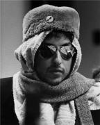 Bob Dylan, (Bob in Cap and Muffler-Tour 74), Los Angeles, 1974, 14 x 11 Silver Gelatin Photograph
