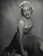 """Marilyn Monroe (with Diamonds), """"How to Marry a Millionaire"""", 1953, 14 x 11 Silver Gelatin Photograph"""