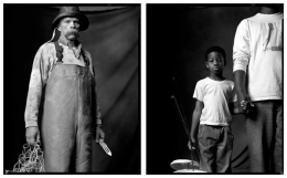 Commercial Fisherman / Young Fisherman, 2003 / 2007, 20 x 32-1/2 Diptych, Archival Pigment Print, Ed. 20