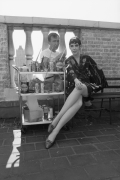 Jasper Johns & Peggy Moffitt, 1964, Archival Pigment Print