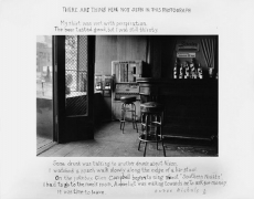 There Are Things Here Not Seen in This Photograph, 1977, 11 x 14 Silver Gelatin Photograph, Ed. 25