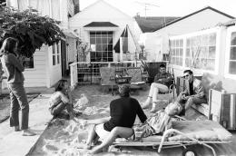 Brooke Hopper, Roger Vadim, Jane Fonda, Irving Blum, 1964, Archival Pigment Print