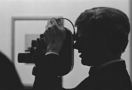 Andy Warhol (with Camera), 1962, Archival Pigment Print