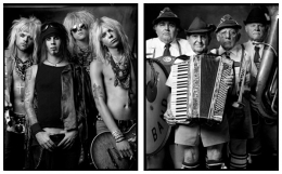 Rock Band / Polka Band, 2006 / 2006, 20 x 32-1/2 Diptych, Archival Pigment Print, Ed. 20