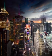 Times Square, New Years Eve, 2012, C-Type Print
