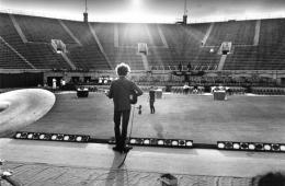 Bob Dylan Sound Check, 1965, Silver Gelatin Photograph