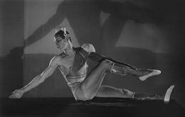 "Serge Lafar in Ballet ""La Chatte,"" 1927, 16 x 20 Platinum Palladium on 20 x 24 Paper, Ed. 27"
