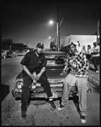 Dr. Dre and Snoop Dogg, Los Angeles, CA, 1993, 20 x 16 inches, Silver Gelatin Photograph, Ed. of 25