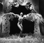 Angel of the Night, 1989, Vintage Silver Gelatin Photograph
