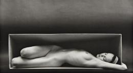 Ruth Bernhardt In the Box (Horizontal), 1962