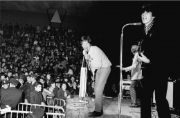 The Rolling Stones on stage, 1965, C-Print