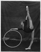 Stacey Overseer, Rhythmic Gymnastics, 1983 (3691-289-7), Silver Gelatin Photograph