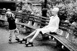 Nadja and Warren, New York City, Vogue, 1995
