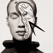 Anitta, Clock Face -The Surreal Thing, Series, New York, 1987, Archival Pigment Print