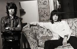 Keith Richards & Mick Jagger, Los Angeles, 1972